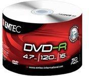 Emtec DVD-R 4,7GB 120min 16x 50er Spindel