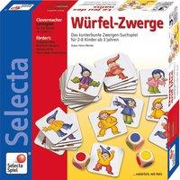 Selecta Spielzeug Würfel-Zwerge
