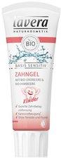 Lavera Basis Sensitiv Kinderzahngel Erdbeer-Himbeer (75 ml)