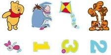 Decofun Wandfigurenset 24-teilig Winnie the Pooh