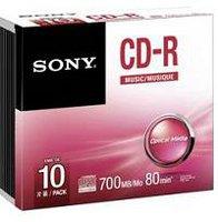 Sony CD-R Audio 700MB 80min 10er Jewelcase