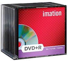 Imation DVD+R 4,7GB 120min 16x 10er Slimcase