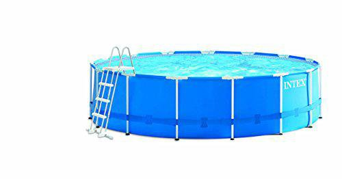 intex pools metal frame pool 457 x 122 cm komplett set kaufen. Black Bedroom Furniture Sets. Home Design Ideas