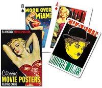 Piatnik Movie Posters Spielkarten