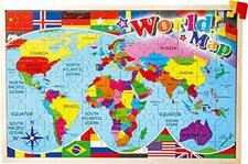 Legler Weltkarte (108 Teile)