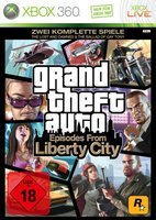 Grand Theft Auto IV: Episodes from Liberty City (Xbox 360)