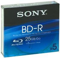 Sony BD-R 25GB 135min 6x 5er Jewelcase