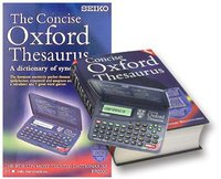 Seiko Multi-Title Dictionary ER-2100 Concise Oxford Thesaurus