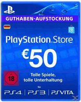 Sony PlayStation Network Card 50€ (DE)