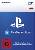 Sony PlayStation Network Card 20€ (DE)