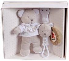 Nicotoy Teddybär mit Schnullerhalter