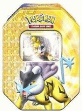 Pokemon Tin Deck Box 17 Raikou