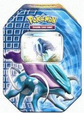 Pokemon PL Tin Deck Box 16 Suicune