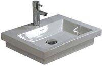 Duravit 2nd floor Handwaschbecken ohne Hahnloch und Überlauf 50 x 40 cm (79050..70)