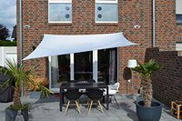Peddy Shield Viereck-Sonnensegel 2,5 x 3,0 m (mit Regenschutz)