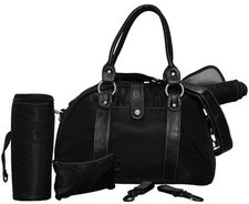 Lässig Shoulder Bag Glam Schwarz