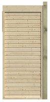Karibu Seitenwand für Flachdach-Pavillon Größe 1 (108 cm)
