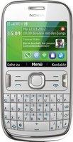 Nokia Asha 302 Weiß ohne Vertrag