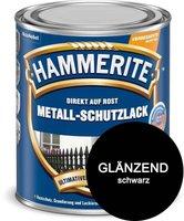 Hammerite Metall-Schutzlack glänzend 750 ml schwarz