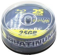 Platinum BD-R 25GB 6x 25er Spindel