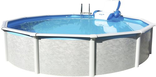 Intex pools stahlwandpool set grande oval 610 x 366 x 135 for Stahl pool oval
