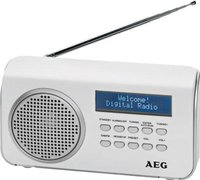 AEG Unterhaltungselektronik DAB 4130 weiß