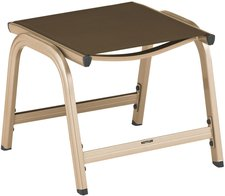 Kettler Basic Plus Hocker champagner-mocca