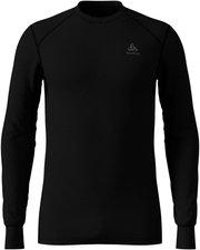 Odlo Shirt l/s crew neck Original Warm Men black