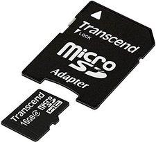 Transcend microSDHC 16GB Class 4 (TS16GUSDHC4)