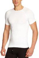 Odlo Shirt s/s crew neck Evolution Warm Men white