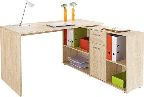 Fmd Möbel Schreibtisch Lex Mit Sideboard Günstig Kaufen