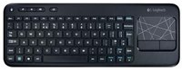 Logitech K400 Wireless Touch Tastatur DE (schwarz)