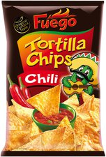 Fuego Tortilla Chips Chili (150 g)