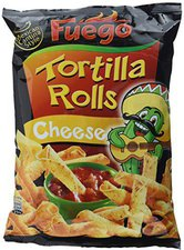 Fuego Tortilla Rolls Cheese (125 g)