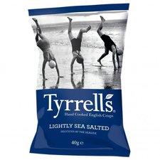 Tyrrell's Lightly Sea Salted Crisps (40 g)