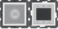 Berker Radio Touch mit Lautsprecher S.1 polarweiß glänzend (28808989)