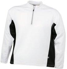 James & Nicholson Men's Running Shirt weiß