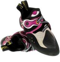 La Sportiva Solution white/pink