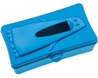 Koziol Ping Pong Tissuebox blau