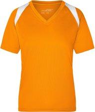 James & Nicholson Ladies Running T-Shirt (JN316) orange