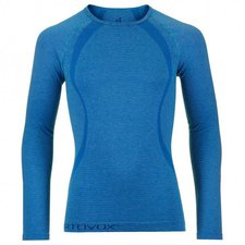 Ortovox Merino Competition Cool Long Sleeve Men blue ocean
