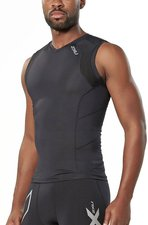 2XU Men's Compression Sleeveless Top