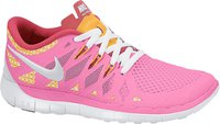 Nike Free 5.0 2014 GS Girls pink glow/white/atomic mango/metallic silver