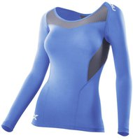 2XU Women's Basic Compression l/s Top blue / grey