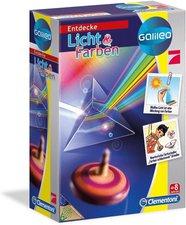 Clementoni Galileo - Entdecke Licht & Farben