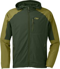 Outdoor Research Men's Ferrosi Hoody Evergreen / Hops
