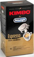 Kimbo Espresso Pads for Delonghi (18 Port.)