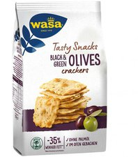 Wasa Delicate Thin Crackers Olive (150g)