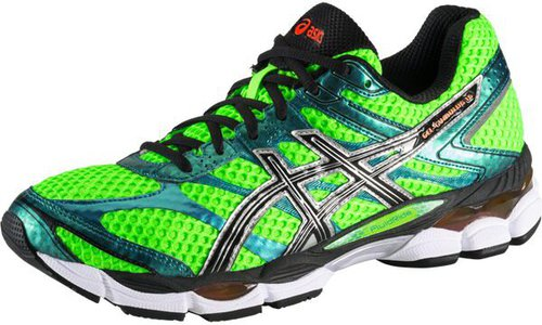 Asics Gel-Cumulus 16 flash green/black/flash orange