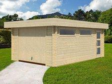 Lasita Garage Canberra 44 inkl. Schwingtor